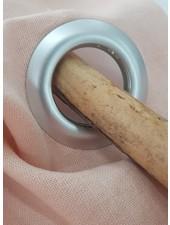 gordijn klik ringen - zilver