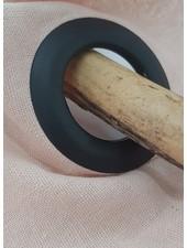 gordijn klik ringen - zwart