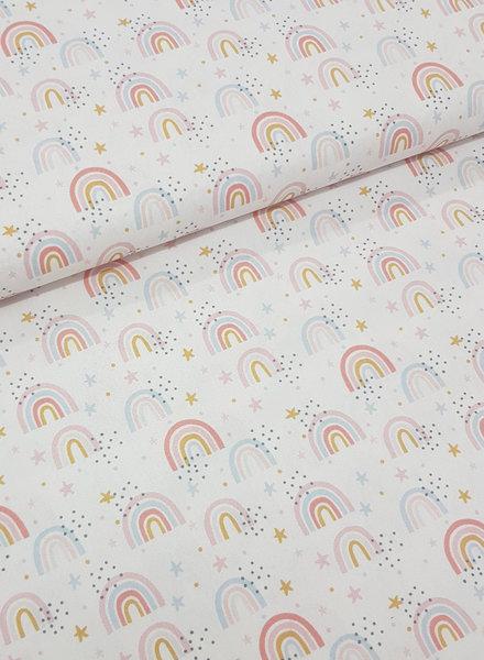 white rainbow - katoen