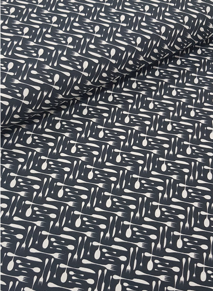 bistro black - cotton