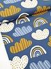 dreamy rainbow - blauw - tricot