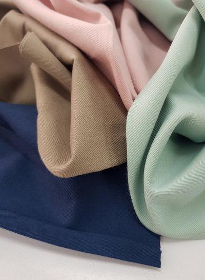 beige - cotton twill - soft touch 9.5 oz