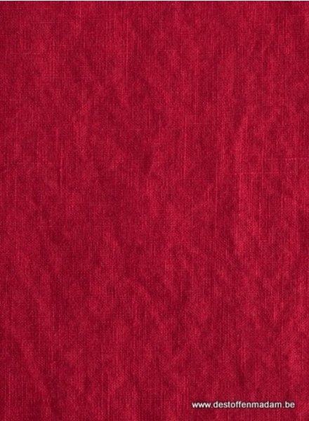 red - linen