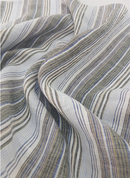 striped linen - Italian quality