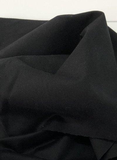 black - cotton twill - soft touch 9.5 oz