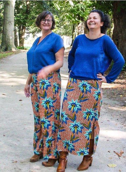 Twinning met tropic flowers