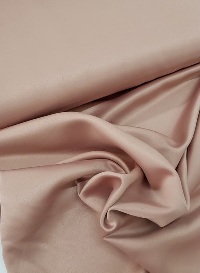 dusty pink - satin