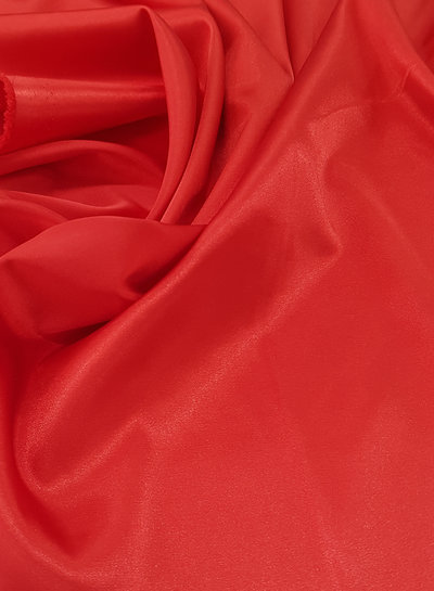 red - satin