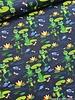 happy kikker - marineblauw - tricot