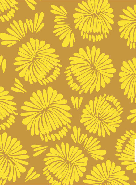 about blue fabrics Let me be a Sunflower - french terry
