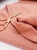 dark dusty pink - double gauze stretch - baby cotton