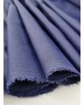 M Silk touch cotton - navy blue