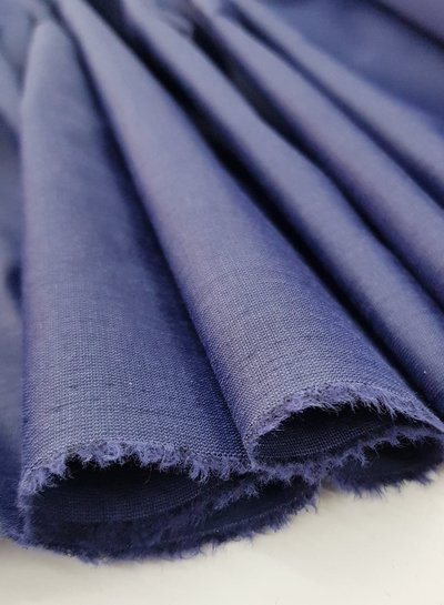 Silk touch cotton - navy blue