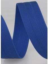 stevige tassenband 30 mm - kobaltblauw kleur 24