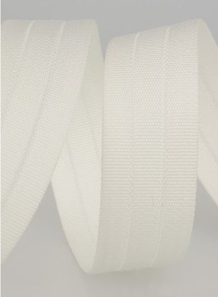sturdy bag strap 30 mm - white 1