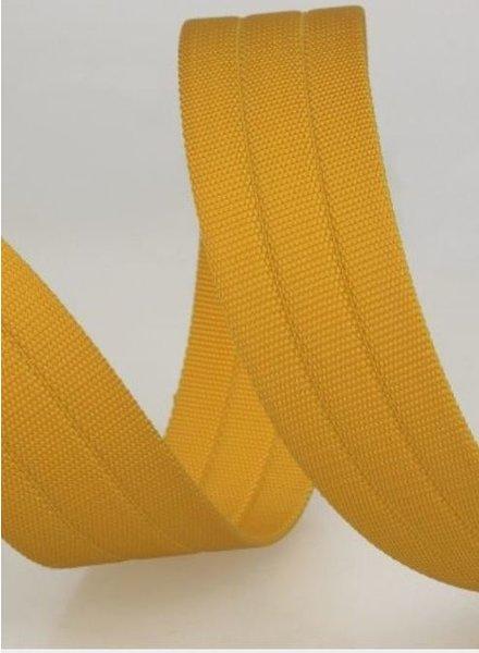 sturdy bag strap 30 mm - yellow 42