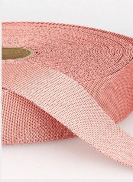 zacht roze - zachte tassenband 35mm