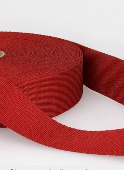 red - soft webbing strap 35mm