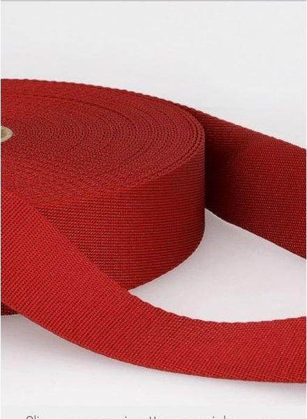 rode - zachte tassenband 35mm