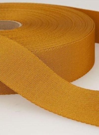 ocre - soft webbing strap 35mm