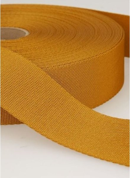 ocre - soft webbing strap 35mm