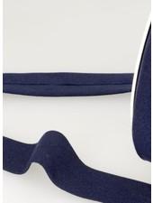organic cotton biais navy blue binding 20 mm col. 23