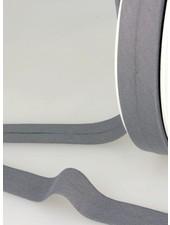 biokatoen biais grijs 20mm kleur 33
