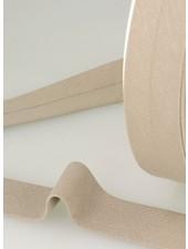 organic cotton biais sand binding 20 mm col. 40