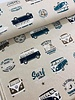 VW surfing holidays - linen look canvas