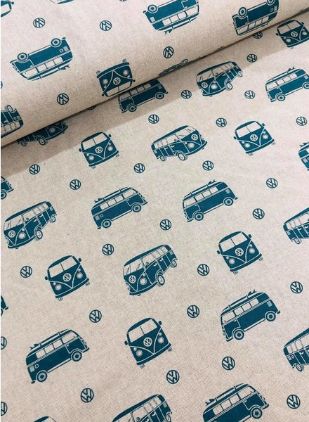 VW paradise - linen look canvas