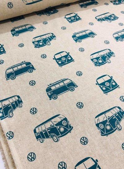 VW paradise - linnen look canvas