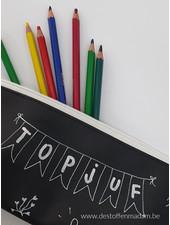 chalkboard fabric