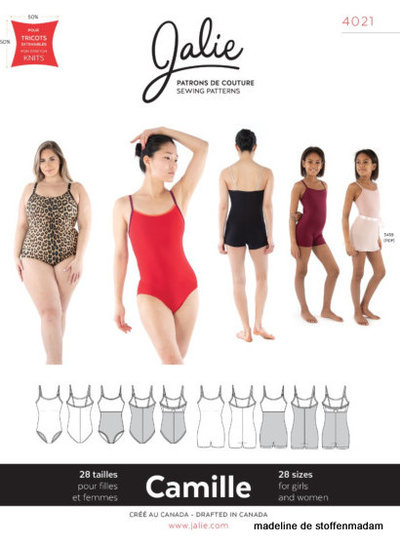 swimsuit Camille - Jalie 4021