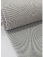 grijs diagonaal - superzachte sterke deco katoen
