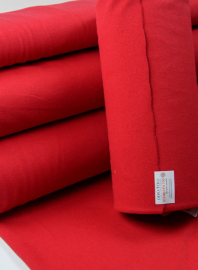 red - recycled jogging
