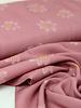 Pink big flowers - viscose
