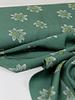 groen grote bloem - viscose
