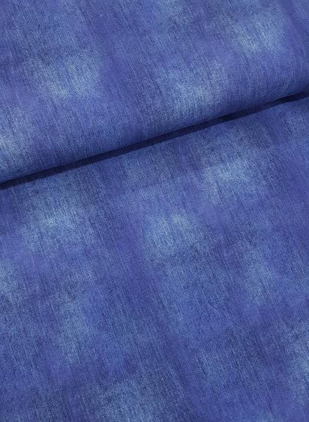 cobalt blue - jersey - denimlook