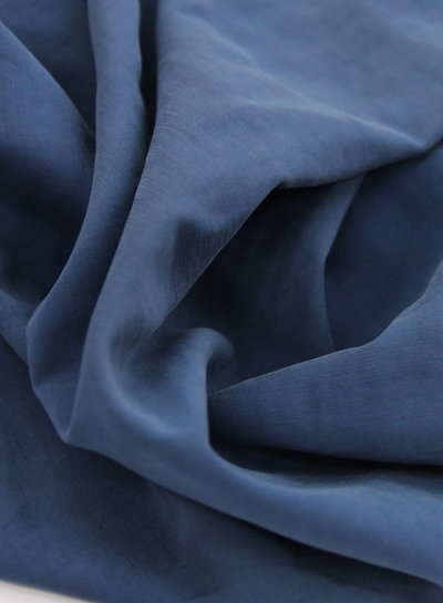 navy - viscose slub