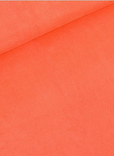 See You at Six Persimmon Orange - sponge terry cloth