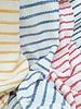 blauw strepen - structuur tricot