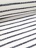 zwart strepen - structuur tricot