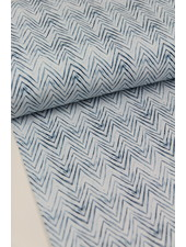 zigzag blue - jersey - oeko tex