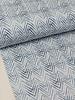 zigzag blauw - tricot - oeko tex