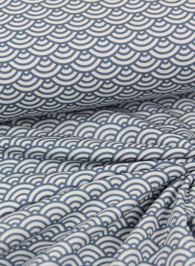 scallop blue - jersey - oeko tex