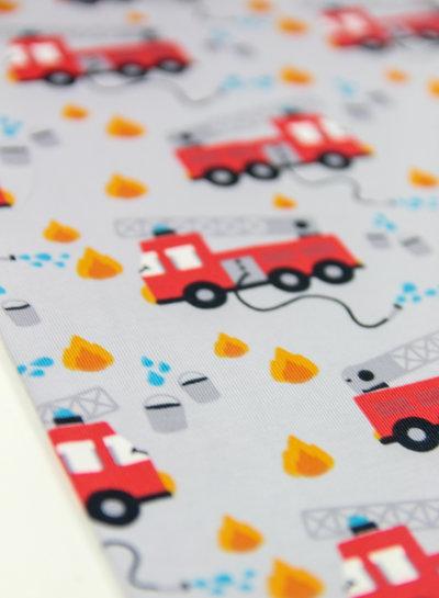 firetruck grijs - tricot