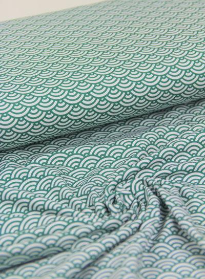 scallop groen - tricot - oeko tex