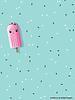 paneel 67 cm Ice Ice baby - tricot
