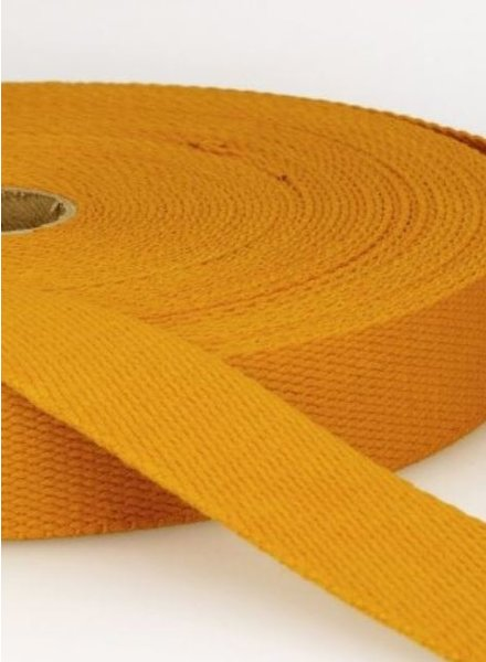 webbing strap mutard - 30 mm