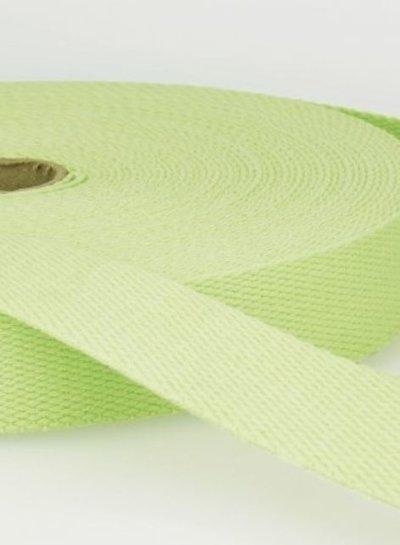 webbing strap pistache - 30 mm